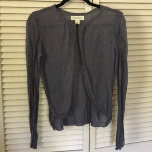 Anthropologie layering sweater size Med